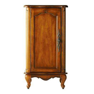 Provence 18 in. W Floor Bath Vanity Cabinet Only in Chestnut