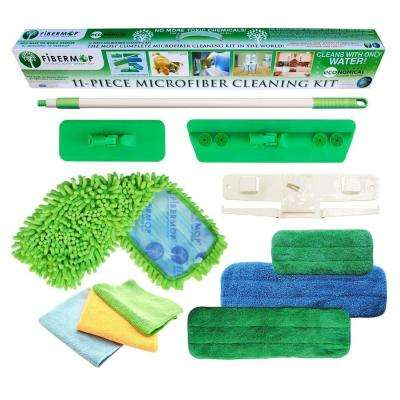 11-in-1 Microfiber Mop Cleaning Kit