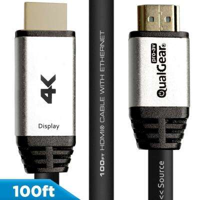 High Speed Long HDMI 2.0 Cable with Ethernet, 100 ft.