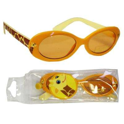 Kids Giraffe Sun Glasses with a Convenient Carrying Case
