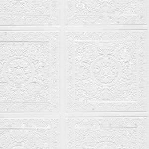 Norwall Relief Print Panels Paintable Wallpaper by Norwall