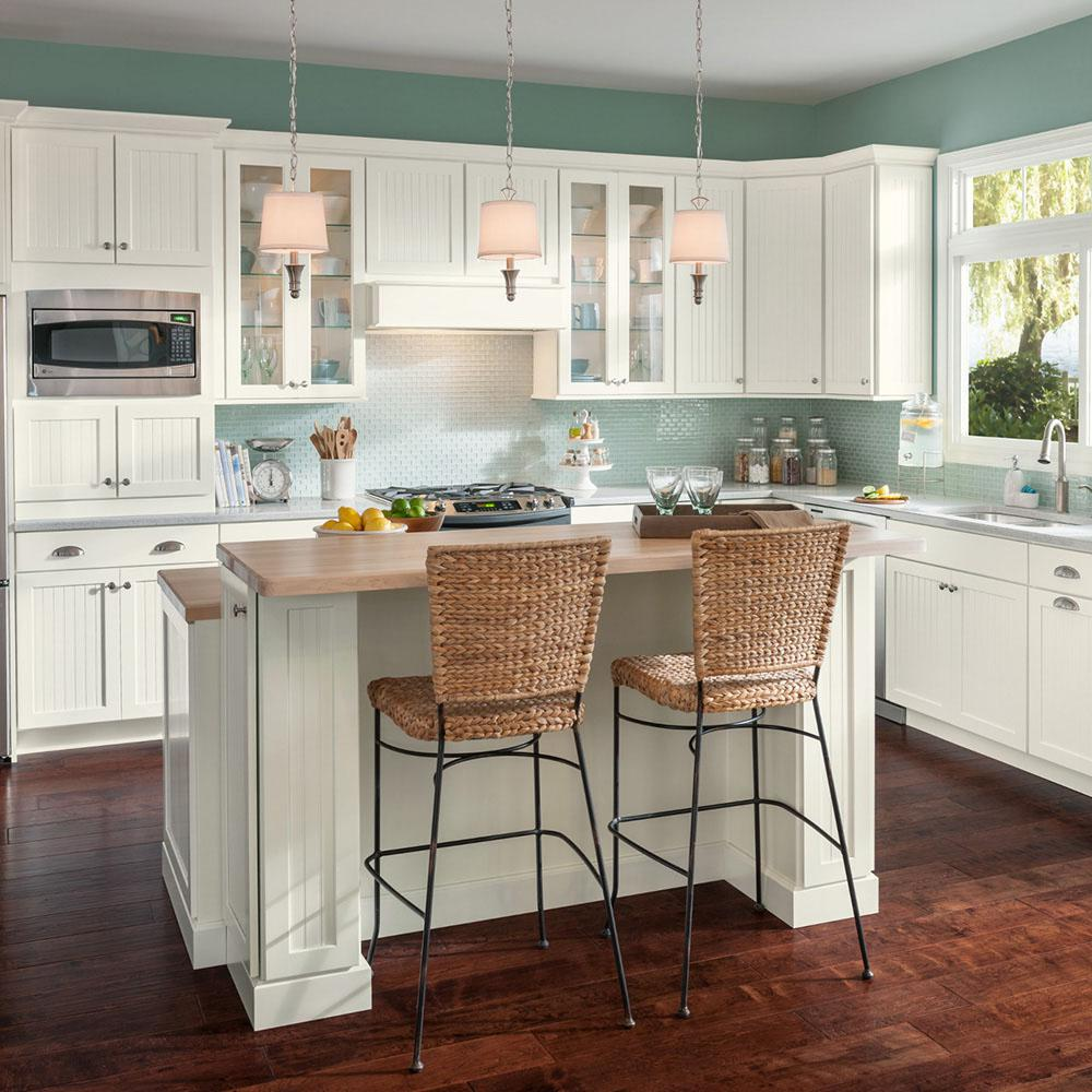 American Woodmark Custom Kitchen Cabinets Shown in Cottage ...