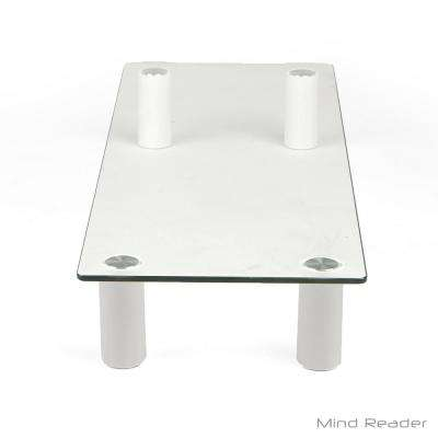 Glass Monitor Stand Riser, Clear