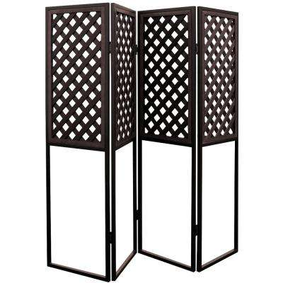 20 in. x 72 in. Spa Privacy Screen in Smoke