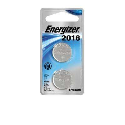 2016 3-Volt Electronic Watch Battery (2-Pack)