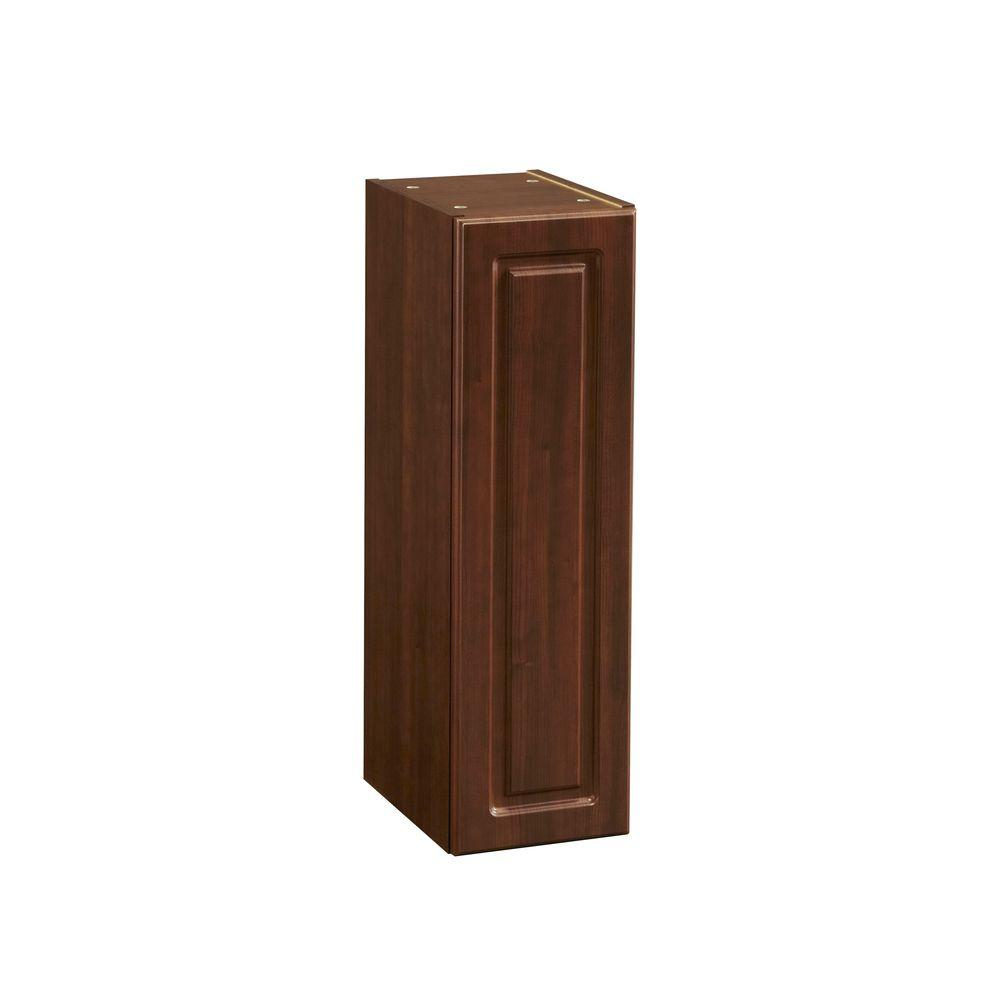 Heartland Cabinetry Heartland Ready to Assemble 9 x 29.8 x 12.5 in. Wall Cabinet in Cherry