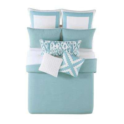 Beach House Brights Full/Queen Comforter Set