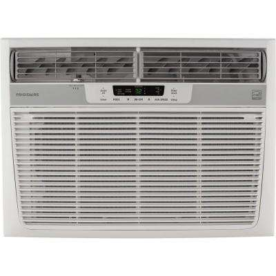 22,000 BTU 230-Volt Window-Mounted Heavy-Duty Air Conditioner with Temperature Sensing Remote Control
