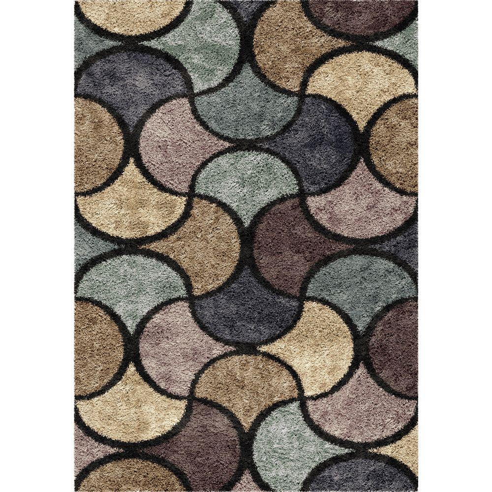 Orian Rugs Chimera Blue 7 Ft 10 In X Indoor Area Rug 307429 The Home Depot