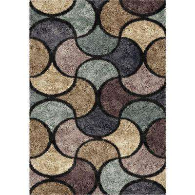 Chimera Blue 5 ft. 3 in. x 7 ft. 6 in. Indoor Area Rug