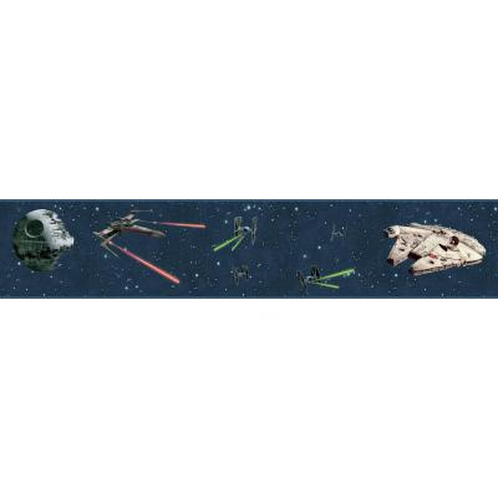 Disney Kids III Star Wars Classic Ships Border