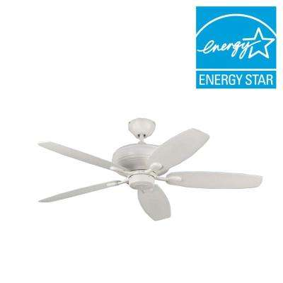 Centro Max 52 in. Rubberized White Ceiling Fan