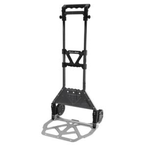 OLYMPIA Pack-N-Roll 200 lb. Steel Folding Hand Truck with Aluminum Toe Plate by OLYMPIA