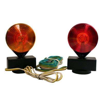2-Sided (Amber/Red) Magnetic Towing Light Kit