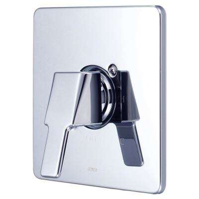 i3 1-Handle Wall Mount Valve Trim Kit in Polished Chrome (Valve Not Included)