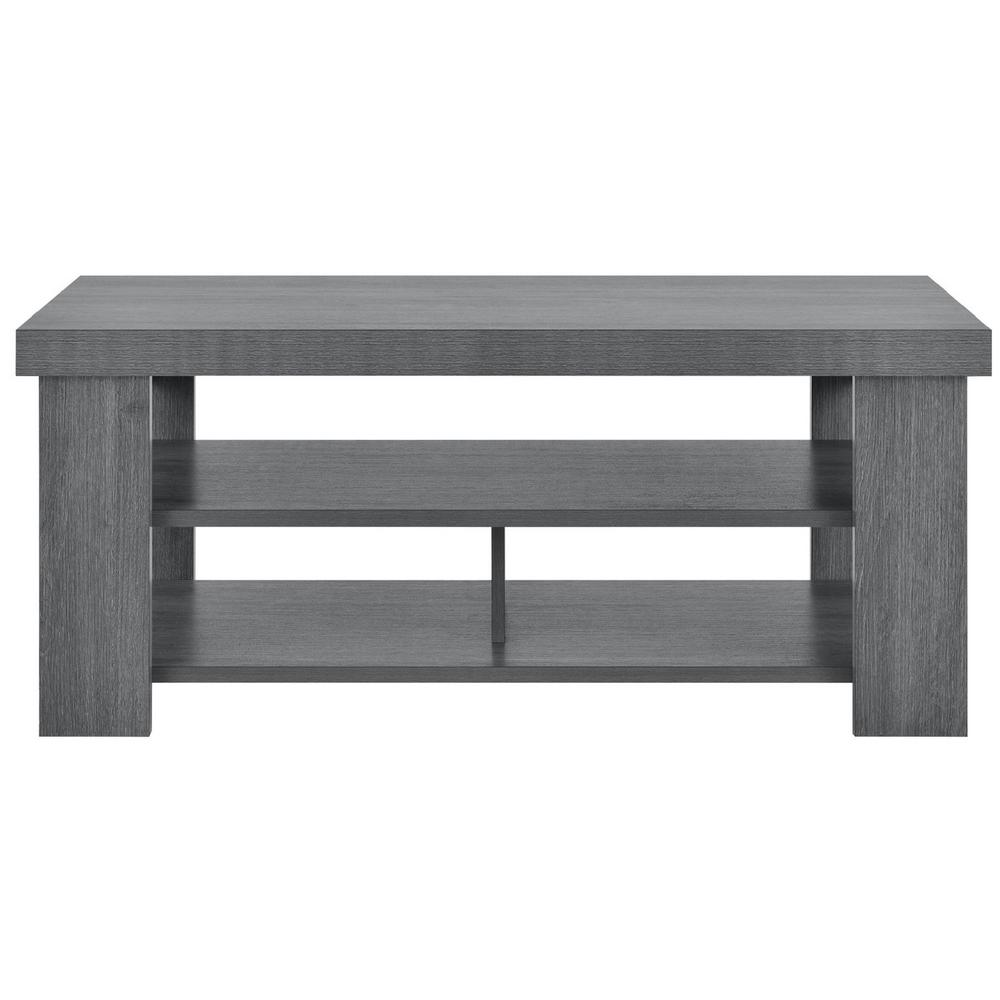 Vantage Gray Oak Coffee Table
