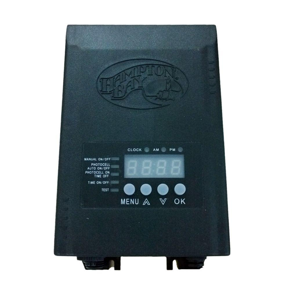 Hampton bay low voltage 120 watt landscape transformer sl for Volt landscape