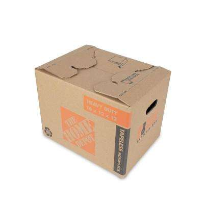 16 in. L x 12 in. W x 12 in. D Heavy-Duty Ready Pack Small Moving Box with Handles