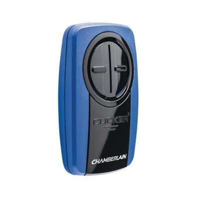 Universal Clicker by Chamberlain Blue Garage Door Remote Control