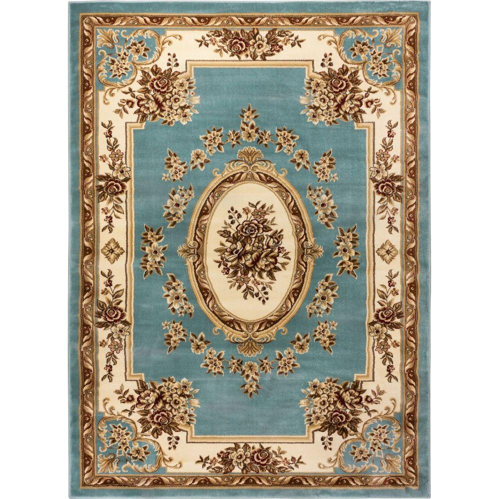 Well Woven Timeless Le Pe Palais Light Blue 11 Ft X 15 Traditional