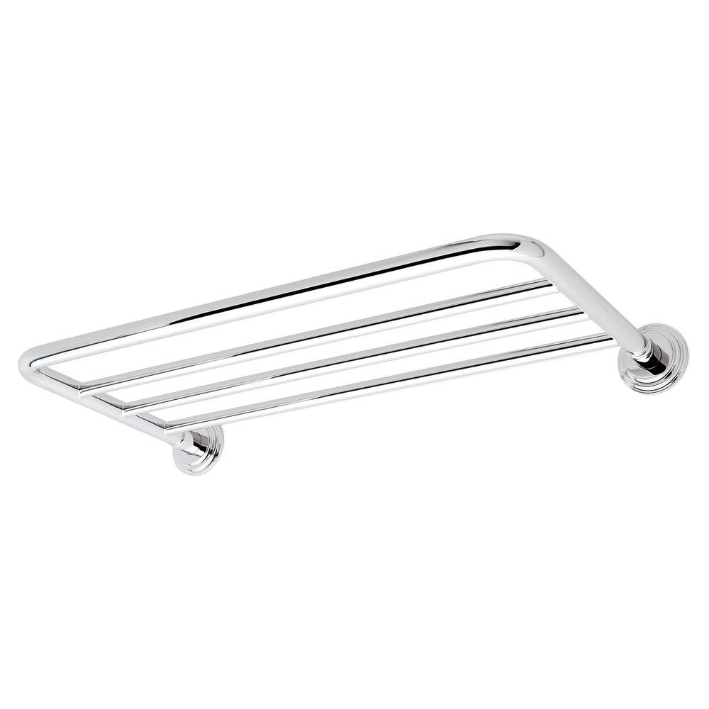 Ginger Chelsea 2.6 in. W Hotel Shelf Mount Pack in Polished Chrome