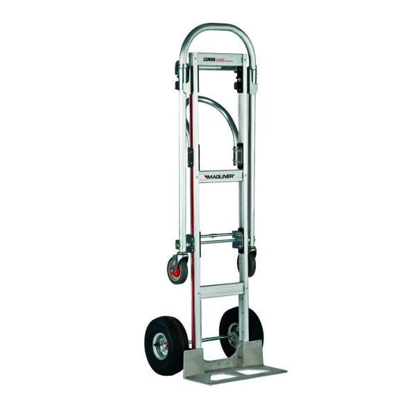 1,000 lb. Capacity Gemini Sr. Convertible Aluminum Modular Hand Truck with Pneumatic Wheels
