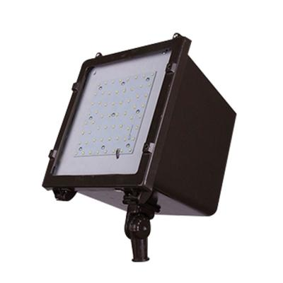 350-Watt Equivalent Integrated Outdoor LED Area and Flood Light, 5500 Lumens, Dusk to Dawn Outdoor Security Light