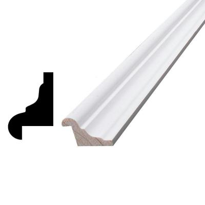 3/4 in. x 1-1/8 in. x 84 in. Primed Pine Finger-Jointed Panel Cap Moulding