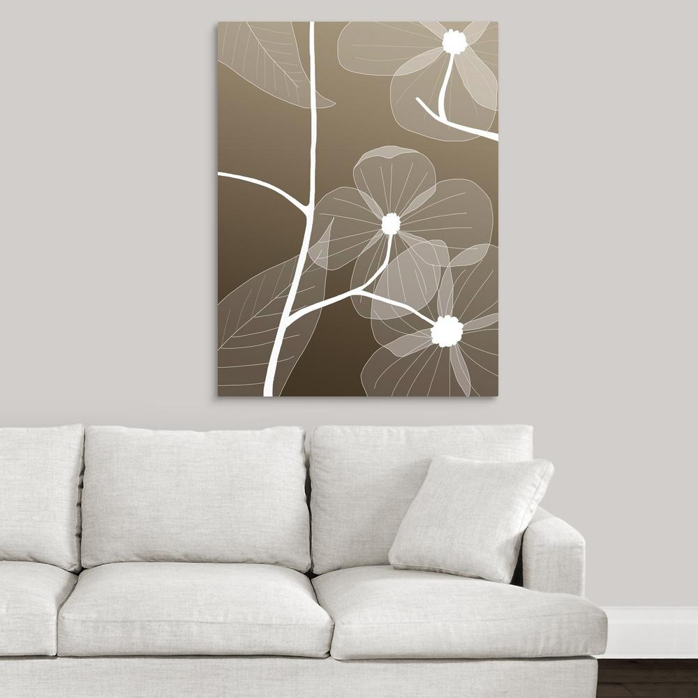 ''Floral 1'' by GraphInc Studio Canvas Wall Art
