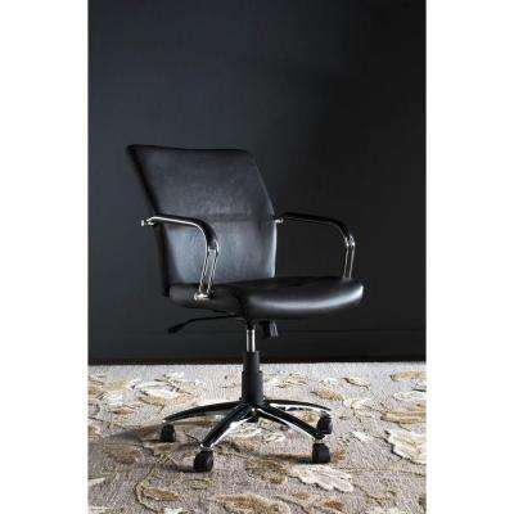 Lysette Black Office Chair