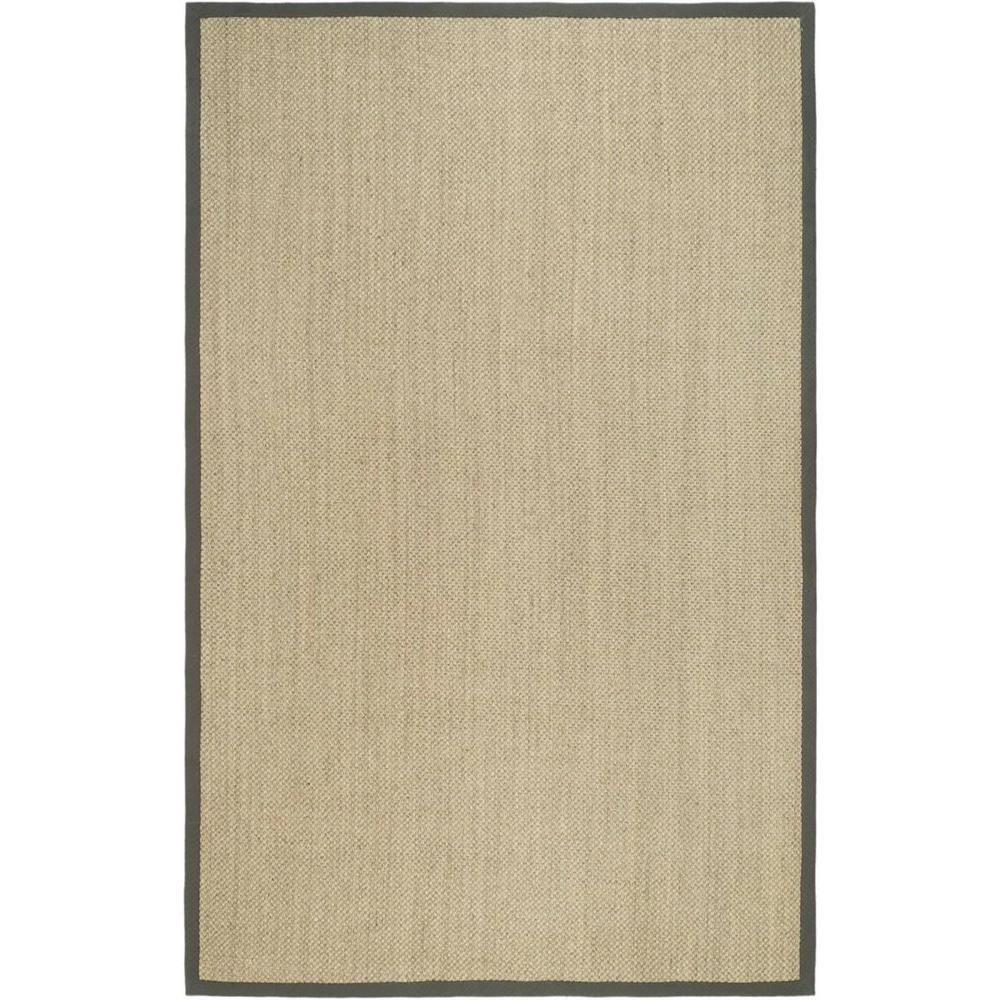 Safavieh Natural Fiber Marble/Grey 5 ft. x 8 ft. Area Rug