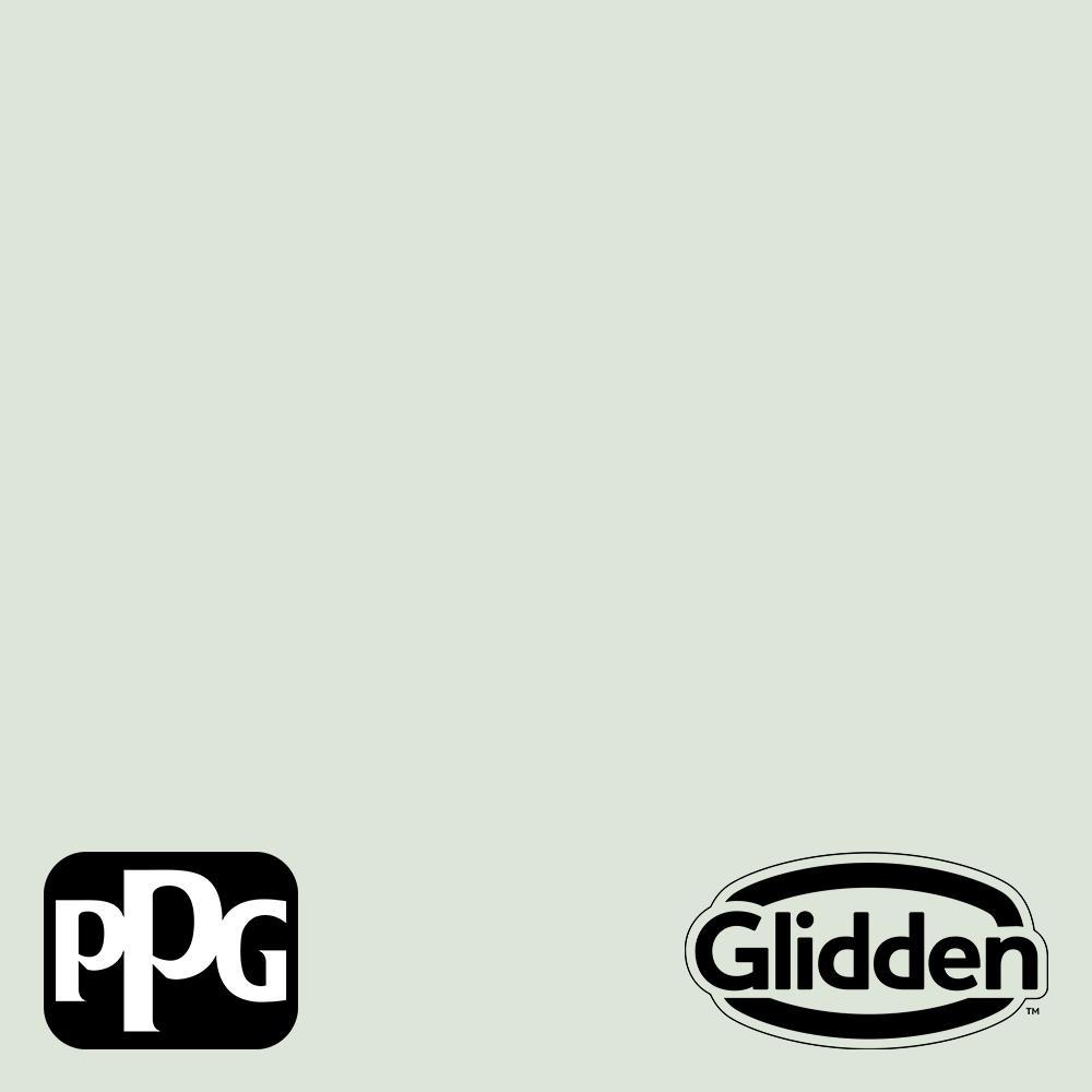Glidden Premium 1 gal. PPG1130-2 Mint Wafer Eggshell Interior Latex Paint
