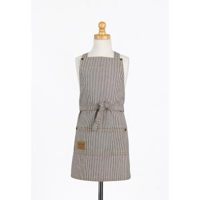 Railroad Stripe Denim Kids Butcher Apron