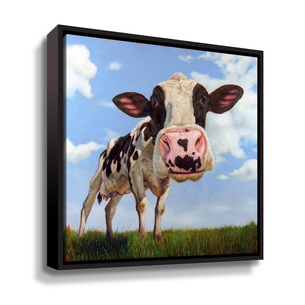 ArtWall Penelope' by Lucia Heffernan Framed Canvas Wall Art 5hef086a2424f