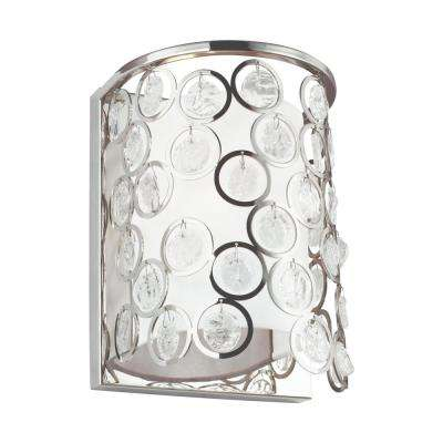 Lexi 1-Light Polished Nickel Wall Sconce