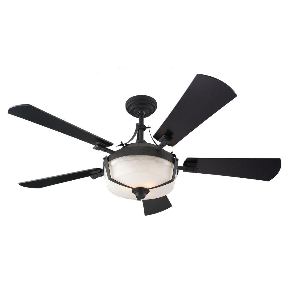 Sea Gull Lighting 59th Street 52 in. Blacksmith Ceiling Fan-DISCONTINUED