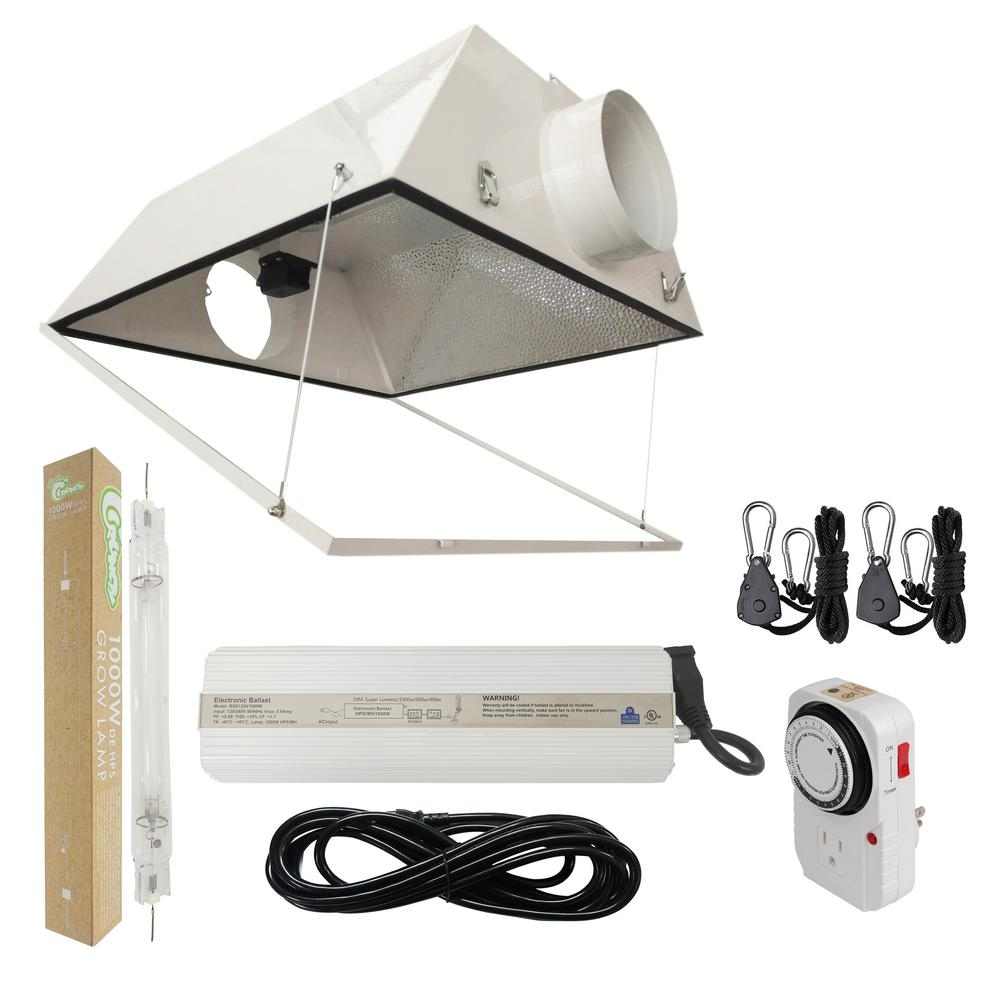1000-Watt Double Ended HPS 120/240-Volt Grow Light System with DE Large