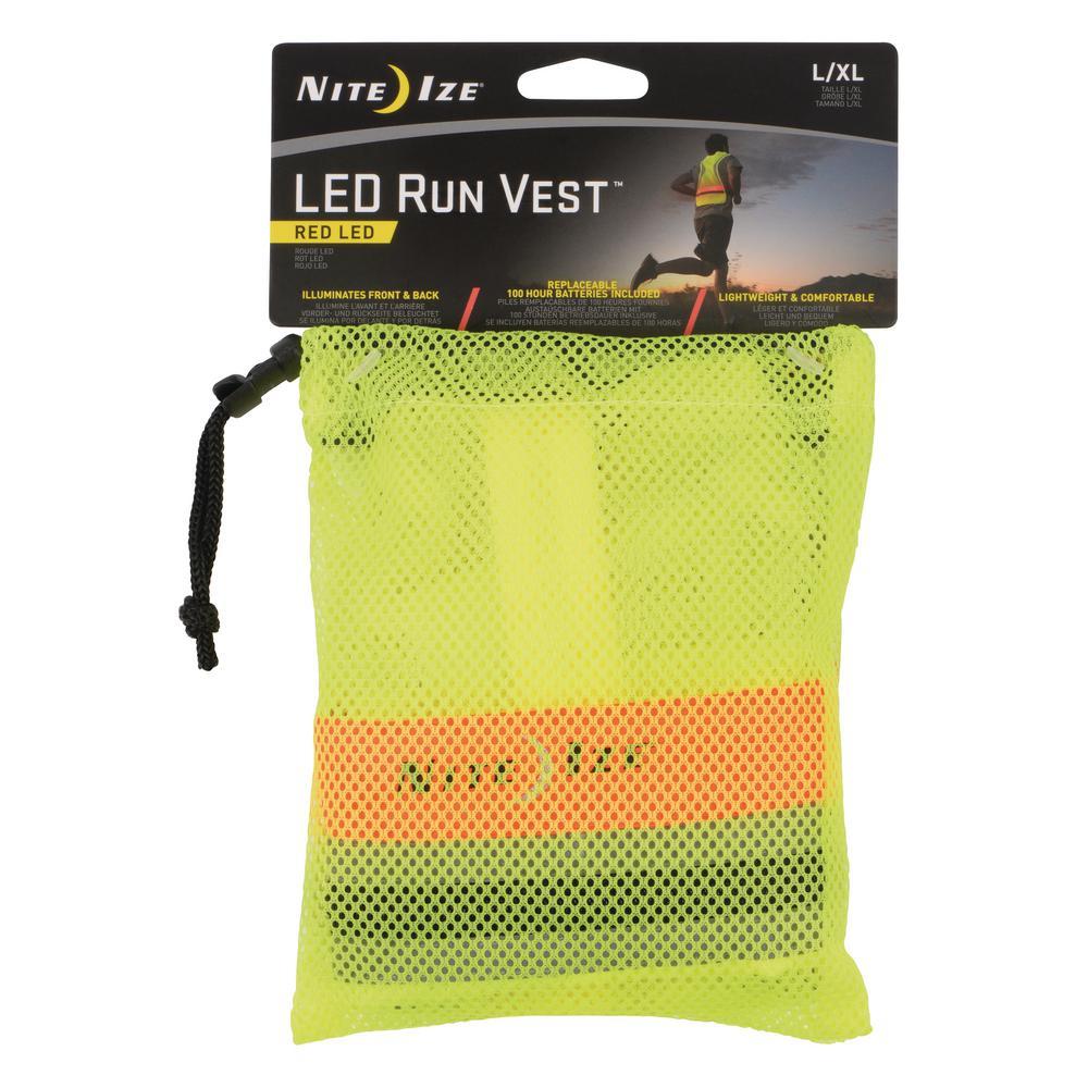 Large/XL LED Run Vest
