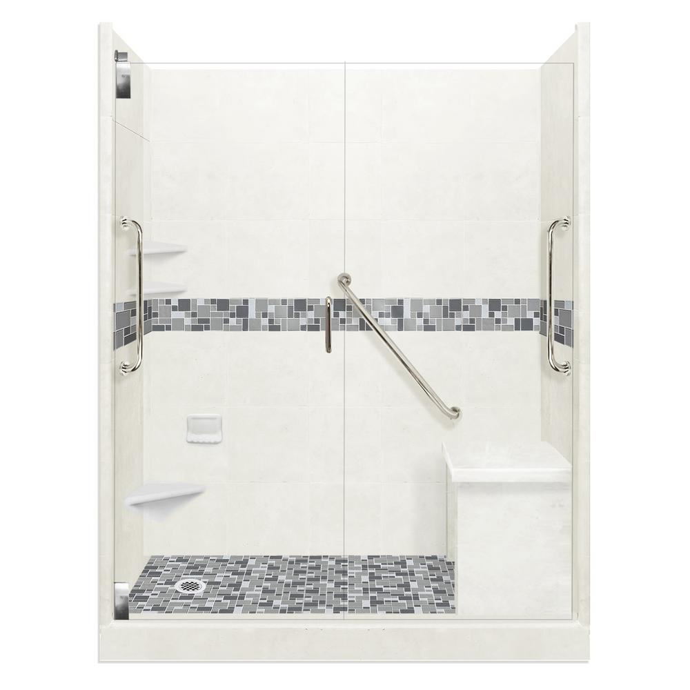 Left - Shower Stalls & Kits - Showers - The Home Depot