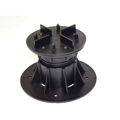 DTG-S4 (110 mm-160 mm) 4.33 in. x 6.30 in. Deck Wise Compatible Adjustable Pedestal Supports (8-Pack)