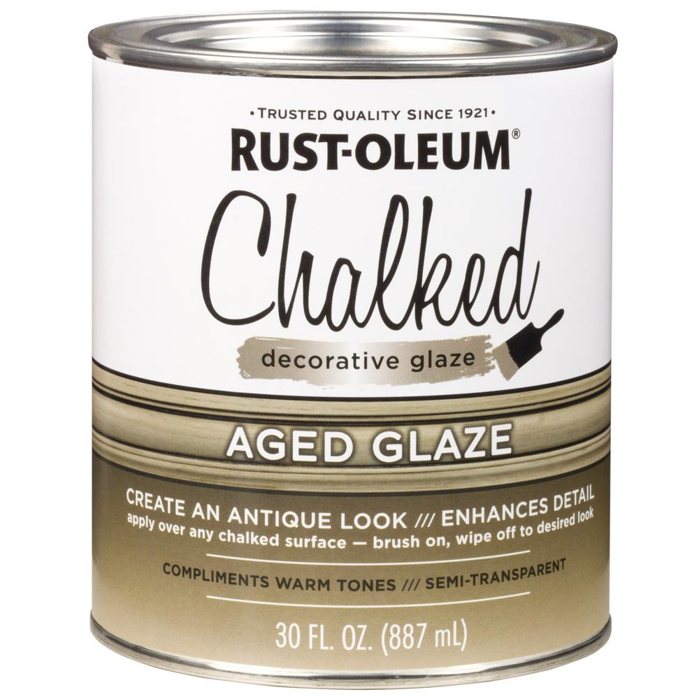 Rust-Oleum 30 oz. Chalked Aged Decorative Glaze (2-Pack)