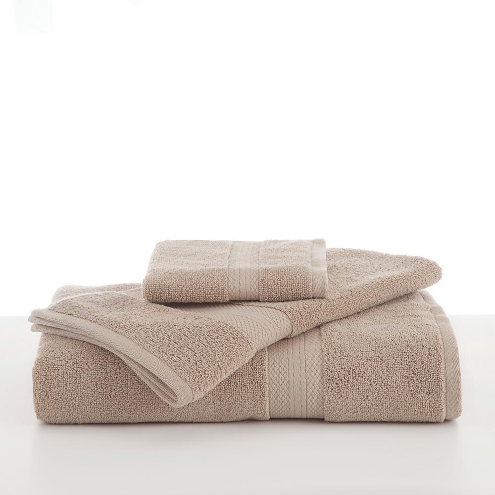 Abundance Cotton Blend  Hand Towel in Linen