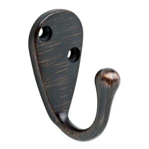 2.59 in. Venetian Bronze Robe Hook
