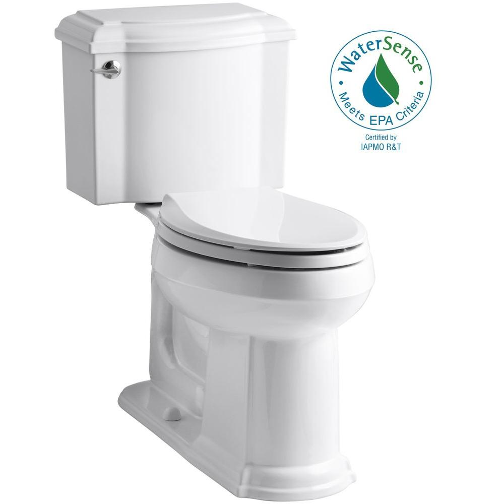 Devonshire 2-piece 1.28 GPF Elongated Toilet with AquaPiston Flush Technology in