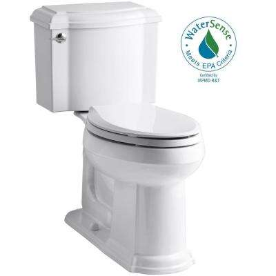 Devonshire 2-piece 1.28 GPF Elongated Toilet with AquaPiston Flush Technology in White