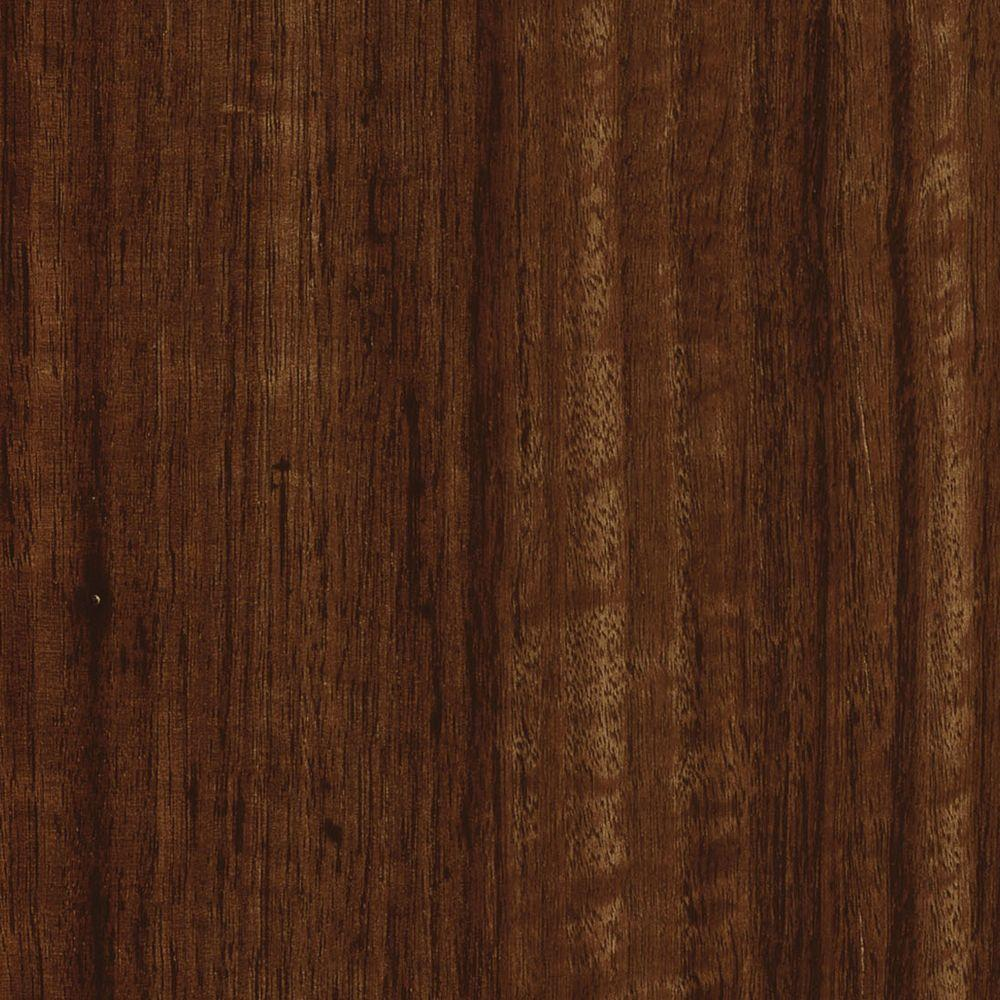 TrafficMASTER Take Home Sample - Allure Plus Spotted Gum Red Resilient Vinyl Flooring - 4 in. x 4 in.
