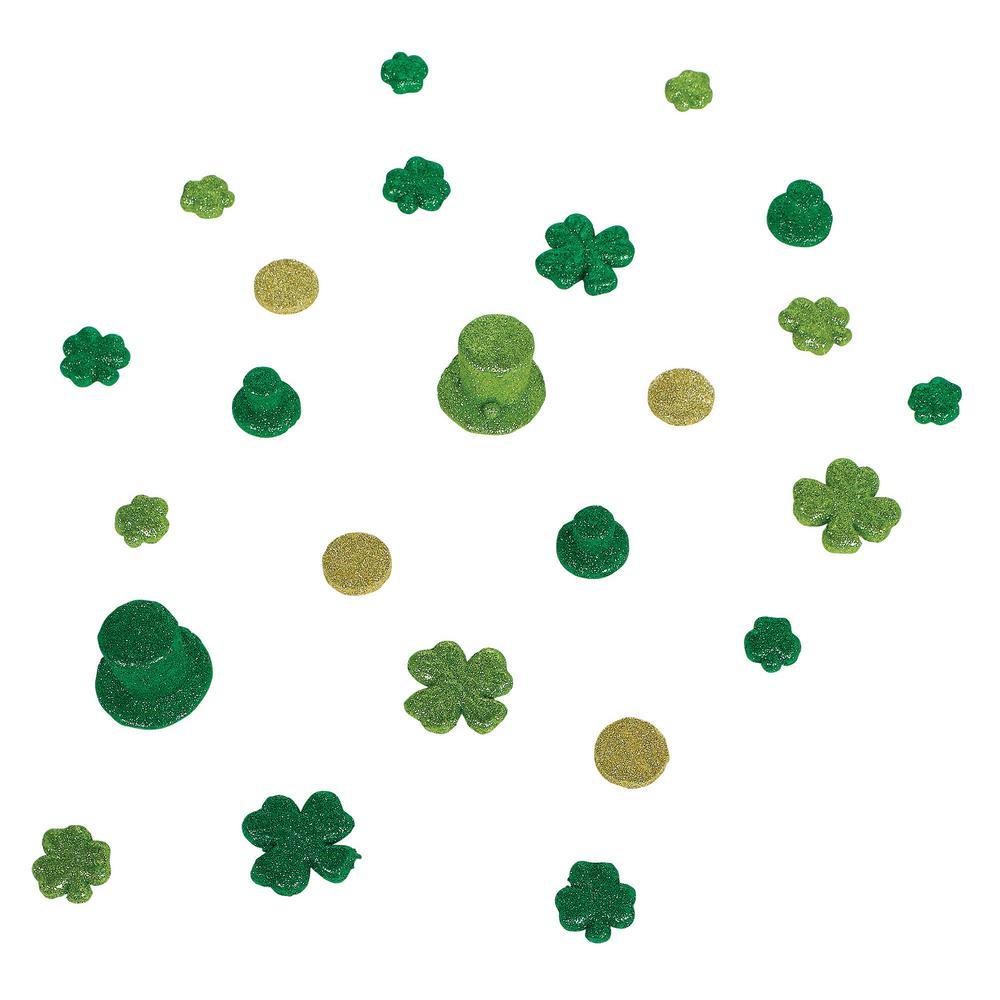 AMSCAN St. Patrick's Day Plastic Table Sprinkles (2-Pack)...