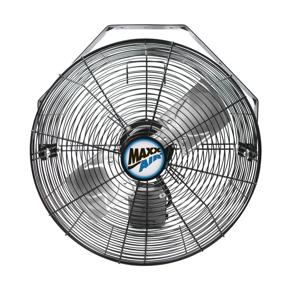 MaxxAir HVWM18 Wall Mount with 18-Inch Fan
