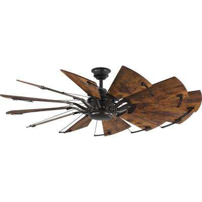 Springer 60 in. 12-Blade Bronze Ceiling Fan