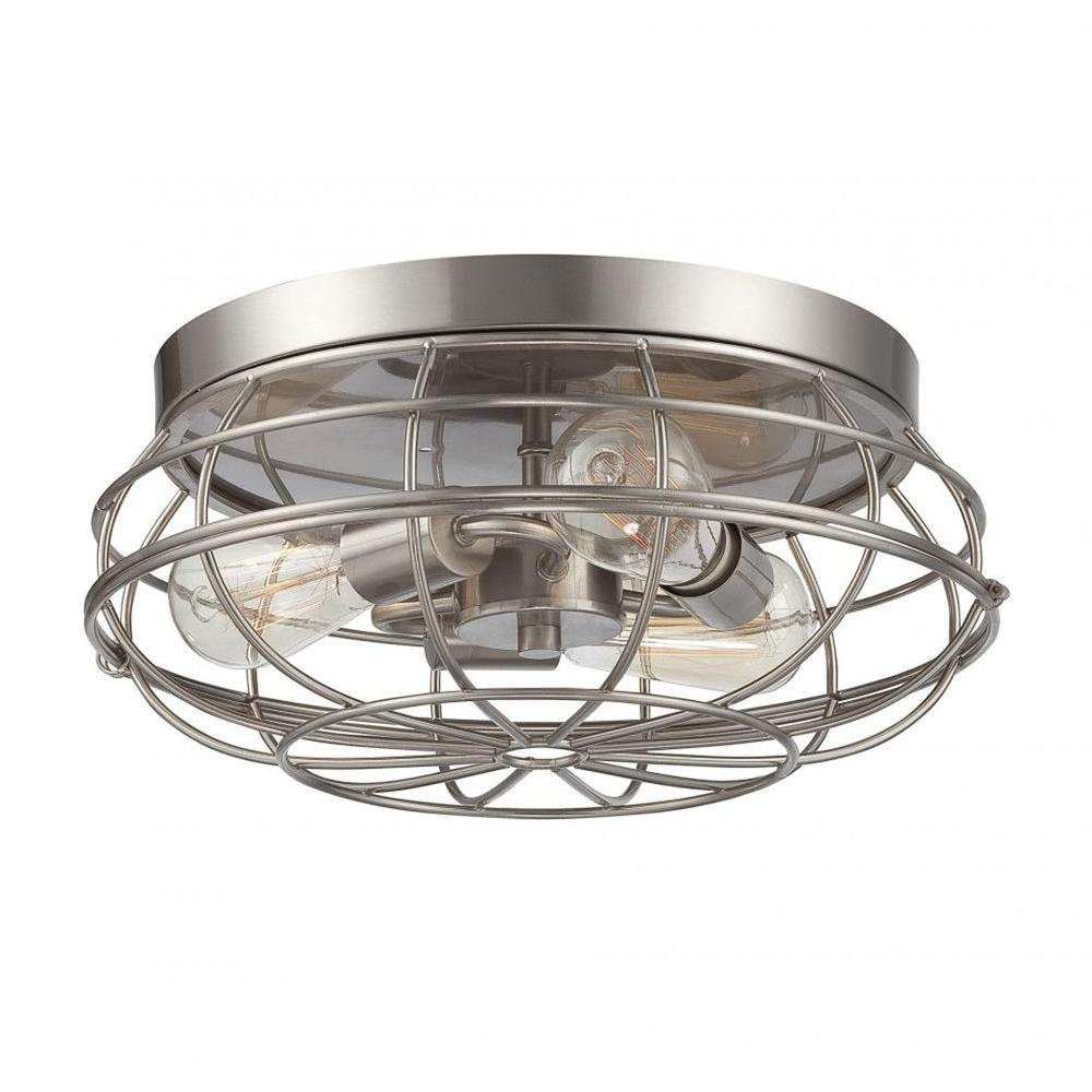 Illumine Mendoza 3 Light Satin Nickel